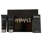 Animale Animale 3.4oz EDT Spray, 3.4oz After Shave Balm, 3.4oz Hair and Body Wash