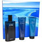 Davidoff Cool Water 4.2oz EDT Spray, 2.5oz Shower Gel, 2.5oz After Shave Balm