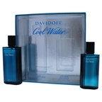 Davidoff Cool Water 4.2oz EDT Spray, 2.5oz After Shave Splash