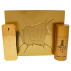 Paco Rabanne 1 Million 3.4oz EDT Spray, 5.1oz Deodorant Spray