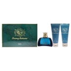 Tommy Bahama Tommy Bahama Set Sail Martinique 3.4oz EDC Spray, 3.4oz After Shave Balm, 3.4oz Shower Gel