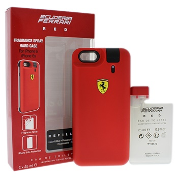 Ferrari Ferrari Scuderia Red 2 x 25ml EDT Spray (Rechargeable), iPhone 6/6s Protection