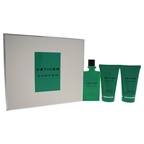 Carven Vetiver 3.33oz EDT Spray, 3.33oz After Shave Balm, 3.33oz Bath and Shower Gel