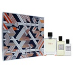 Hermes Terre Dhermes 3.3oz EDT Spray, 2.7oz Hair and Body Shower Gel, 1.35 After Shave Lotion