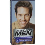 Just For Men Shampoo-In Hair Color Medium-Dark Brown # 40