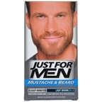 Just For Men Brush-In Color Gel Mustache-Beard & Sideburns Light Brown # M-25 Mustache-Beard & Sideburns Color