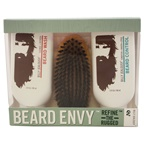 Billy Jealousy Beard Envy Kit 3oz Beard Wash, 3oz Beard Control, Brush