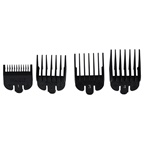 WAHL Professional Cliper Guide Pack - Model # 3160-100 No.1 Comb 1/8 - 3.0mm Cut, No.2 Comb 1/4 - 6.0mm Cut, No.3 Comb 3/8 - 10.0mm Cut, No.4 Comb 1/2 - 13.0mm Cut