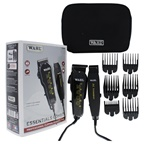 WAHL Professional Essentials Combo Professional Clipper/Trimmer Duo - Model # 8329 - Black Clipper & Trimmer Combo