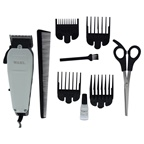 WAHL Professional Deluxe Home Haircut - Model # 8645-500 - White/Black Trimmer