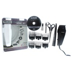 WAHL Professional Premium Home Kit - Model # 8643-500 - Black Clipper/Trimmer