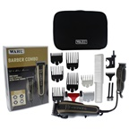 WAHL Professional 5 Star Barber Combo - Model # 8180 - Black/Brown Clipper