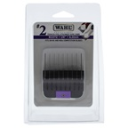 WAHL Professional Stainless Steel Attachment Comb - # 2 For Cuts 1/4 Black
