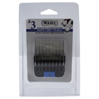 WAHL Professional Stainless Steel Attachment Comb - # 3 For Cuts 3/8 Black