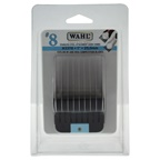 WAHL Professional Stainless Steel Attachment Comb - # 8 For Cuts 1 Black