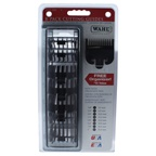 WAHL Professional Clipper Cutting Guides Pack - Model # 3170-500 Comb # 1 - 1/8, # 2 - 1/4, # 3 - 3/8, # 4 - 1/2, 5 # - 5/8, # 6 - 3/4, # 7 - 7/8, # 8 - 1
