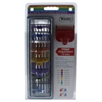 WAHL Professional Colored Cutting Guides Pack - Model # 3170-400 Comb # 1 - 1/8, # 2 - 1/4, # 3 - 3/8, # 4 - 1/2, 5 # - 5/8, # 6 - 3/4, # 7 - 7/8, # 8 - 1
