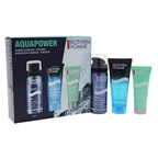 Biotherm Aquapower Dynamic Hydration 1.69oz Foam Shaver, 1.35oz Aquafitness, 0.67oz Aquapower
