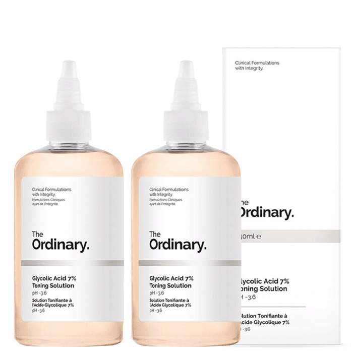 The Ordinary Glycolic Acid 7% Toning Solution [Double Pack]