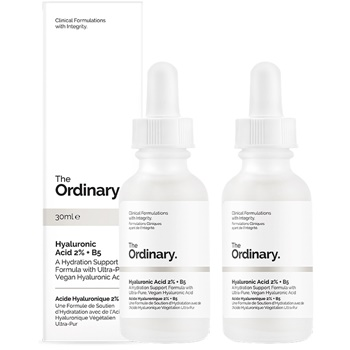 The Ordinary Hyaluronic Acid 2% + B5 [Double Pack]