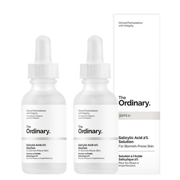 The Ordinary Salicylic Acid 2% Solution  [Double Pack]