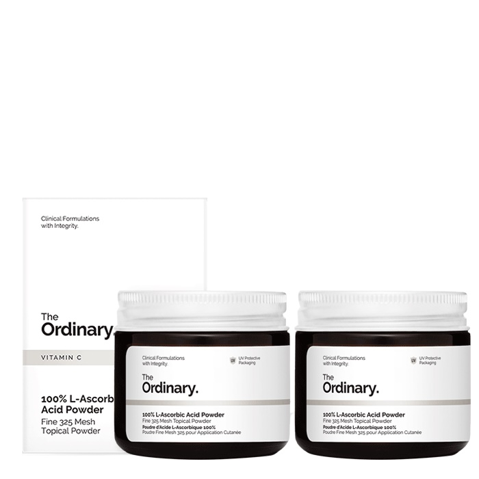 The Ordinary 100% L-Ascorbic Acid Powder [Double Pack]