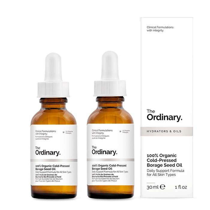 The Ordinary 100% Organic Cold-Pressed Borage Seed Oil [Double Pack]