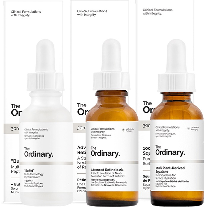The Ordinary Overnight Anti Ageing Repair Routine