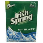 Irish Spring IcyBlast Cool Refreshment Deodorant Soap