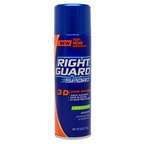 Right Guard Sport 3-D Odor Defense Antiperspirant & Deodorant Aerosol Spray,Fresh Deodorant Spray