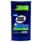 Right Guard Sport  Fresh Invisible Solid Antiperspirant & Deodorant Deodorant Stick