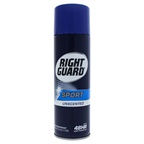 Right Guard Sport 3-D Odor Defense Antiperspirant & Deodorant Aerosol Spray,Unscented Deodorant Spray