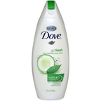 Dove Go Fresh Cool Moisture Body Wash with Nutrium Moisture Cucumber&Green Tea Scent