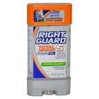 Right Guard Total Defense 5 Power Gel Antiperspirant Deodorant Fresh Blast Deodorant Stick