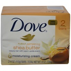 Dove Nourishing Care Bar Soap Shea Butter