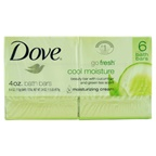 Dove Go Fresh Cool Moisture Hydrating Lotion Beauty Bar Soap