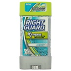Right Guard Xtreme Fresh Energy Gel Antiperspirant & Deodorant Deodorant Stick