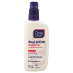 Clean & Clear Dual Action Moisturizer Oil-Free Step 3