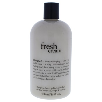 Philosophy Fresh Cream Shampoo, Shower Gel & Bubble Bath Bath & Shower Gel
