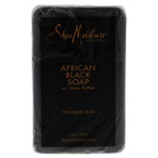 Shea Moisture African Black Soap Bar Acne Prone & Troubled Skin Bar Soap