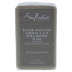Shea Moisture Sacha Inchi Oil Omega-3-6-9 Rescue Shea Butter Soap - Dry to Extra-Dry Skin Bar Soap