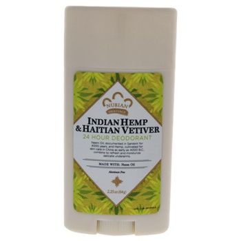 Nubian Heritage Indian Hemp & Haitian Vetiver 24 Hour Deodorant Deodorant Stick