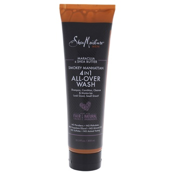Shea Moisture Maracuja & Shea Butter Smokey Manhattan 4-In-1 All Over Wash Body Wash