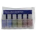 Malin + Goetz Essential Starter Kit Grapefruit Face Cleanser, Vitamin E Face Moisturizer, Bergamot Body Wash, Vitamin B5 Body Moisturizer, Peppermint Shampoo, Cilantro Hair Conditioner