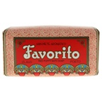 Claus Porto Favorito Red Poppy Bath Soap Bar Soap