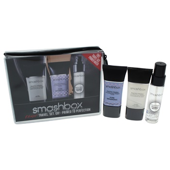 Smashbox Primer Travel Set 1oz Foundation Primer, 1oz Fundation Primer Pore Minimizing, 1oz Primer Water