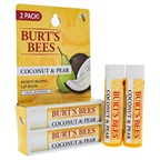Burt's Bees Coconut and Pear Moisturizing Lip Balm Twin Pack