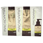 Macadamia Professional Nourishing Moisture Shampoo, Conditioner & Oil Treatment 0.34oz Shampoo, 0.34oz Conditioner, 0.17oz Oil Treatment