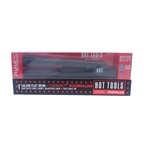 Hot Tools Ceramic Titanium Tourmaline Flat Iron - Model # 1188 -Black/Purple