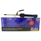 Hot Tools 24K Gold Salon Curling Iron/Wand - Model # 1138 - Gold/Black